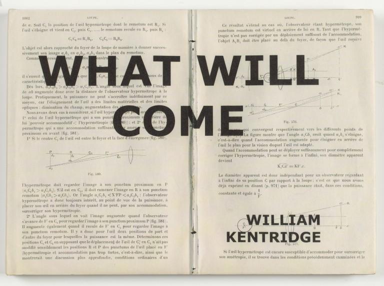 William Kentridge_What Will Come cover