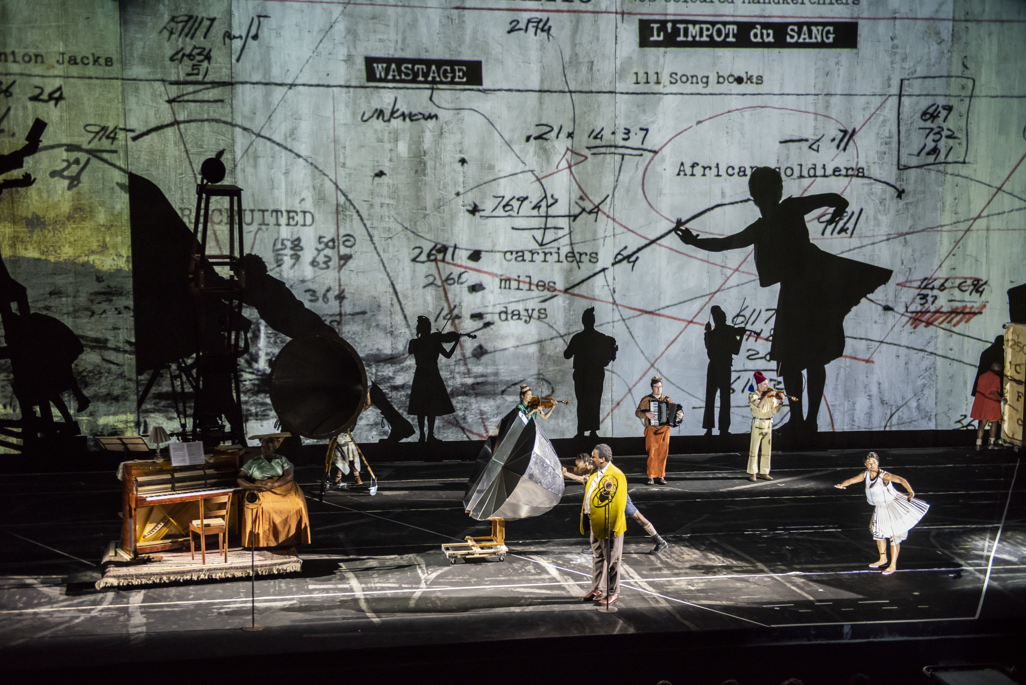 William Kentridge The Head and The Load