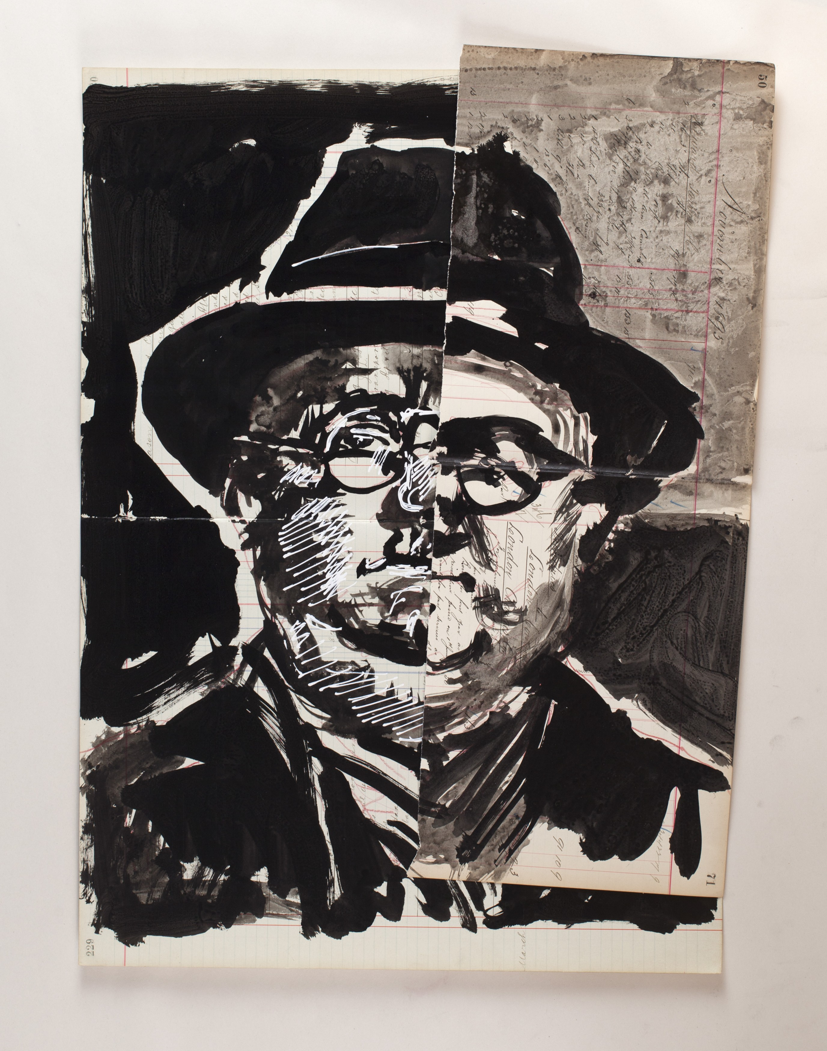 Untitled (Man with Hat)